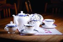 """Чайный сервиз на 6 персон Акку """"Ноктюрн"""" 15 предметов"""