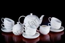 """Чайный сервиз на 6 персон Акку """"Элегия"""" 15 предметов"""