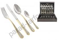 """Набор столовых предметов Face """"Santorini Gold"""" 24 предмета на 6 персон"""
