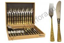 "Набор столовых предметов Giorinox ""Dubai Oro"" 51 предмет на 12 персон"