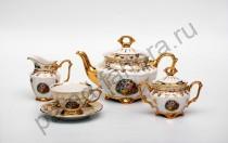 """Чайный сервиз Bavarian Porcelain """"Мадонна"""" 15 предметов"""