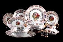 """Столовый сервиз Bavarian Porcelain """"Мадонна"""" 27 предметов"""