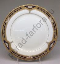 """Набор тарелок Japonica """"Дворцовый кобальт"""" 27см подстановочных"""