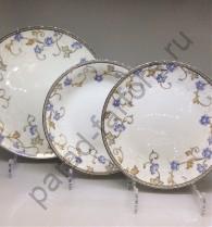 """Набор тарелок Japonica """"Грация"""" 18 предметов"""