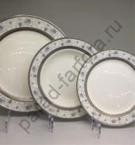 """Набор тарелок Japonica """"Киото"""" 18 предметов"""