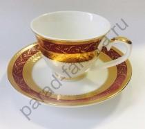 """Кофейная пара Japonica """"Королевский рубин"""" 12 предметов"""