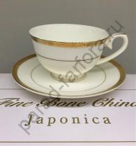 "Чайная пара Japonica ""Золото"" 12 предметов"