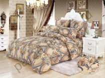 """Комплект постельного белья KAZANOV.A. """"Шедоу (бежевый)"""" 1,5 спальный"""
