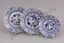 """Набор тарелок Мэри-Энн """"Луковый рисунок"""" 18 предметов"""