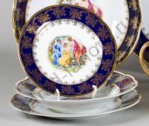 "Набор тарелок Мэри-Энн ""Мадонна перламутр"" 18 предметов"