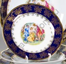 "Набор тарелок Мэри-Энн ""Мадонна перламутр"" 19см десертных"