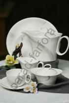 """Чайный сервиз Royal Fine China """"Атласная лента"""" 17 предметов"""