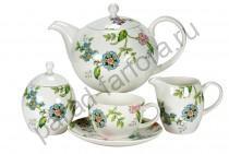 """Чайный сервиз Royal Fine China """"Прованс"""" 17 предметов"""