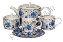 """Чайный сервиз Royal Fine China """"Ханна"""" 17 предметов"""