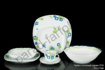 """Чайно-столовый сервиз Винтерлинг """"Голубая мозаика"""" 27 предметов"""