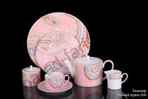 "Чайный сервиз на 6 персон Ханкук Прауна ""Кашемир"" 16 предметов"