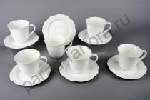 """Чайная пара на 6 персон Takito """"Гармония"""" 12 предметов"""