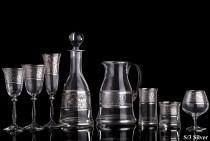 "Рюмка для ликера, водки TIMON ""Silver"" (6шт)"
