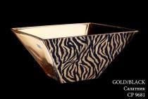 Салатник Gold-Black Precious (Пречиус) CP9681